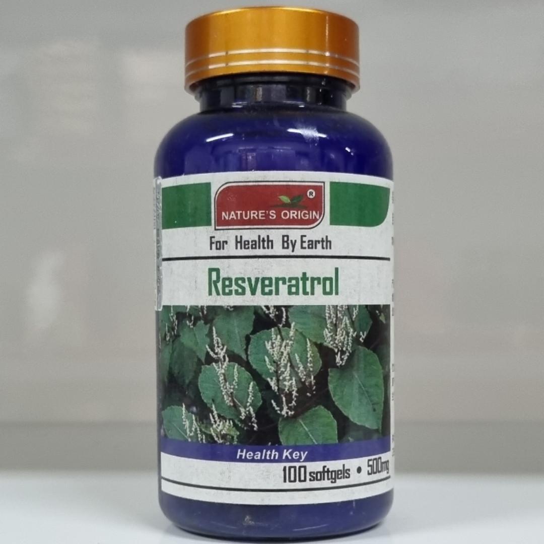 Ресвератрол в капсулах 100 шт - Resveratrol 100 кап.