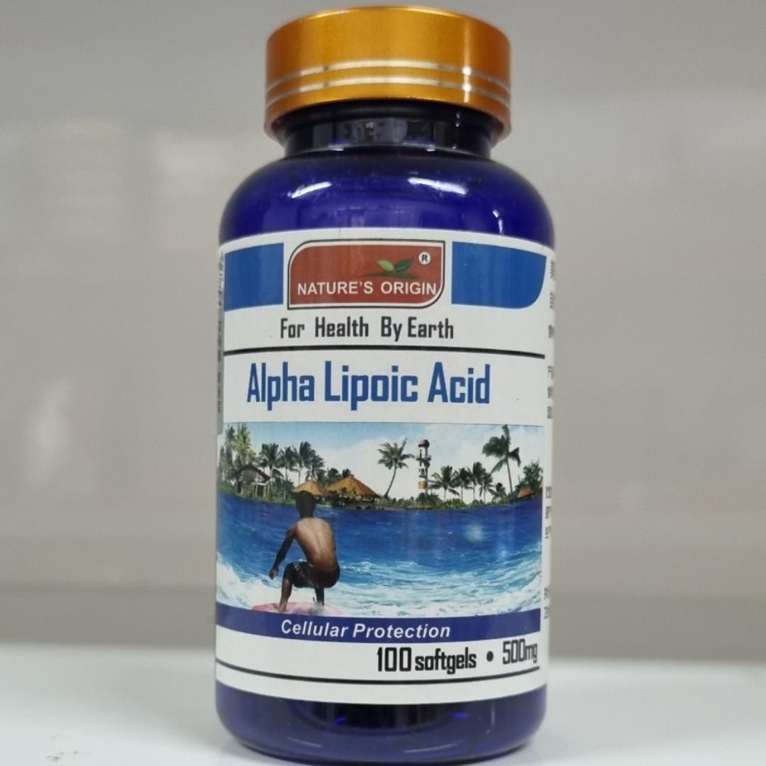 Альфа-липоевая кислота в капсулах 100 шт - Alpha Lipoic Acid 100 кап.