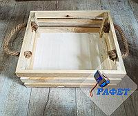 Ящик деревянный подарочный №5, размер 40*30*12 см, не окрашенный