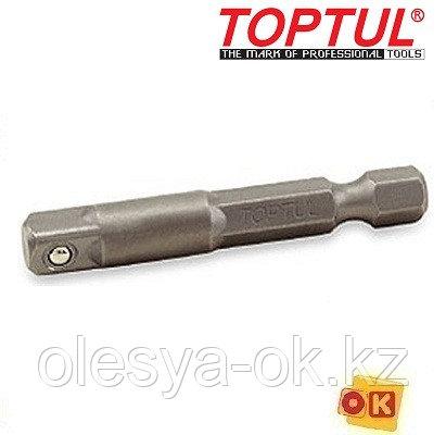 Переходник шуруповерт-головка 1/4 50мм TOPTUL (FPKA0808)
