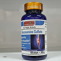 Глюкозамин сульфат в капсулах  100 шт - Glucosamine Sulfate 100 кап.