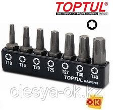 Набор бит TORX Т10-Т40 7шт. TOPTUL (GAAV0702)