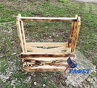 Ящик деревянный подарочный, №7а, размер 40 * 16 * 19 см, обожжённый