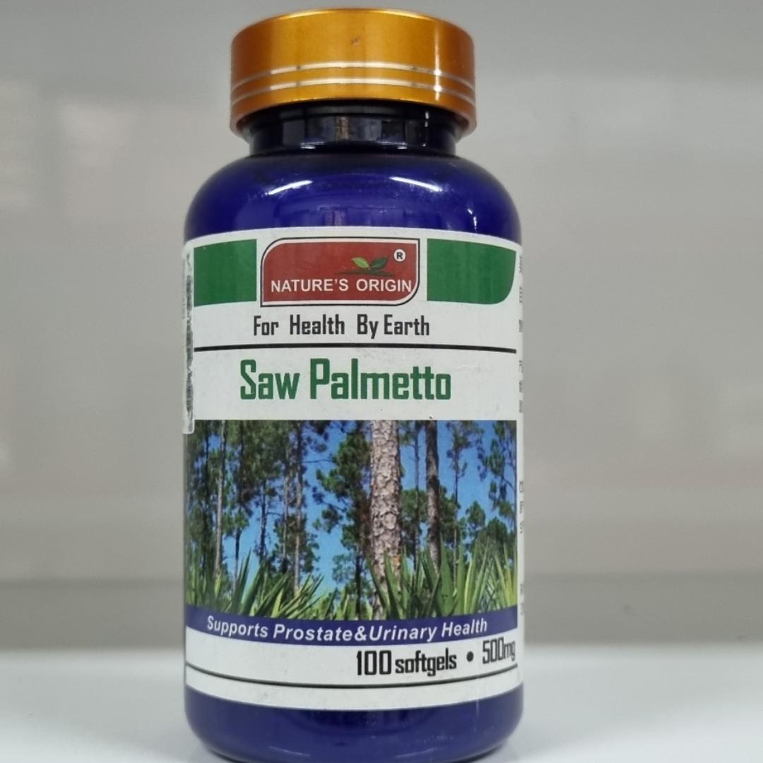 Со Пальметто для мужчин в капсулах  100 шт - Saw Palmetto