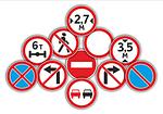 Запрещающие дорожные знаки