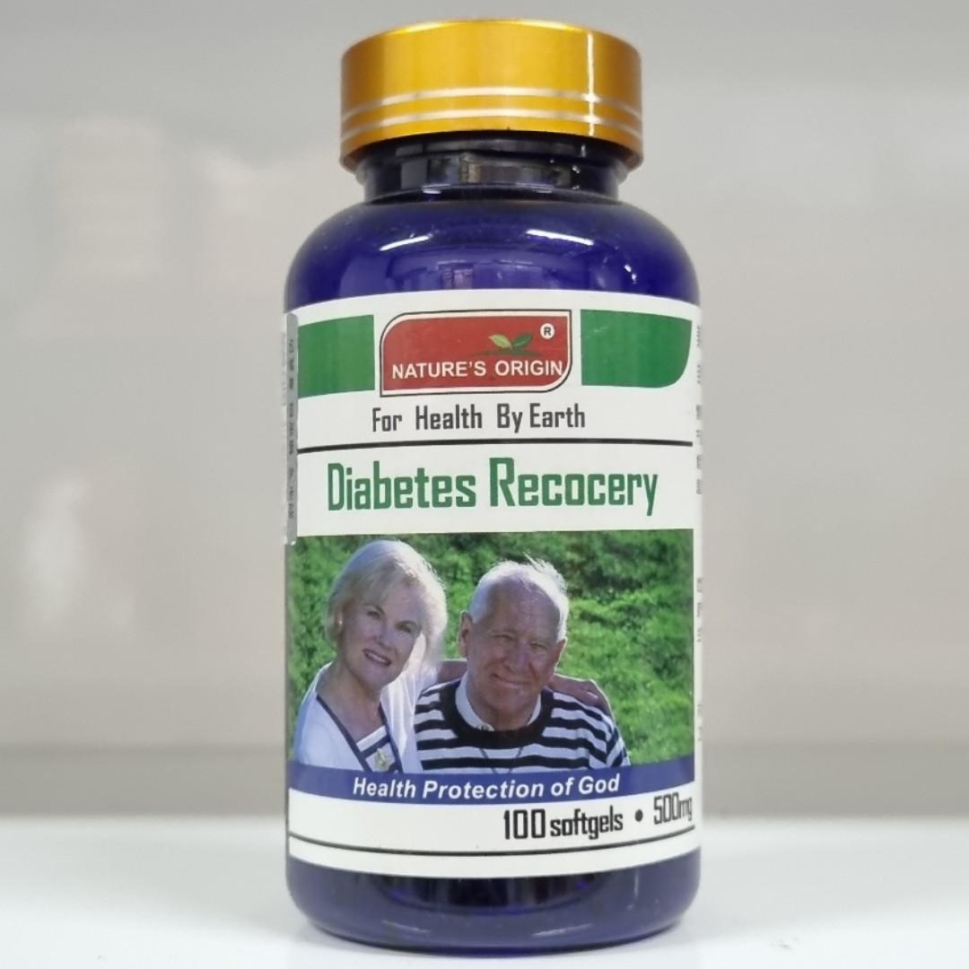 Лечение диабета в капсулах 100 шт - Diabetes Recovery