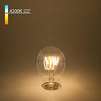 Филаментная светодиодная лампа A60 6W 4200K E27