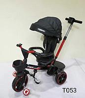 Детский трехколесный велосипед Барс черный