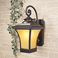 Libra D венге уличный настенный светильник