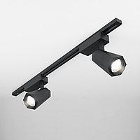 Трековый светодиодный светильник для однофазного шинопровода Magnum черный матовый 20W 4200K