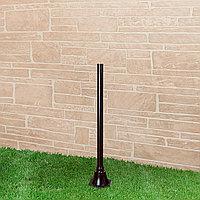 Столб для светильника 1043 120 см черный