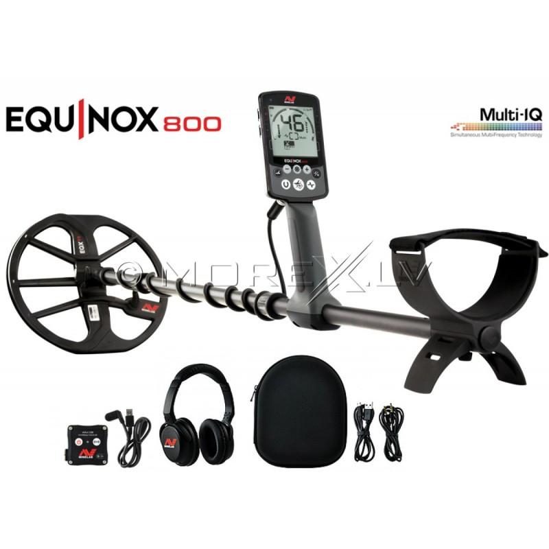 Металлодетектор Minelab EQUINOX 800