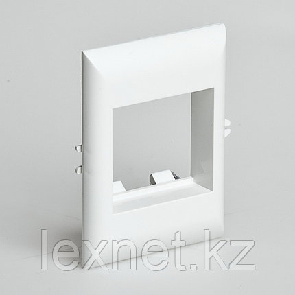 Рамка для встраиваемого оборудования, РУВИНИЛ, СПР-2-М, 45х45х9мм, для РКК-100х60 и 100х40, Белый, 14 шт в уп , фото 2