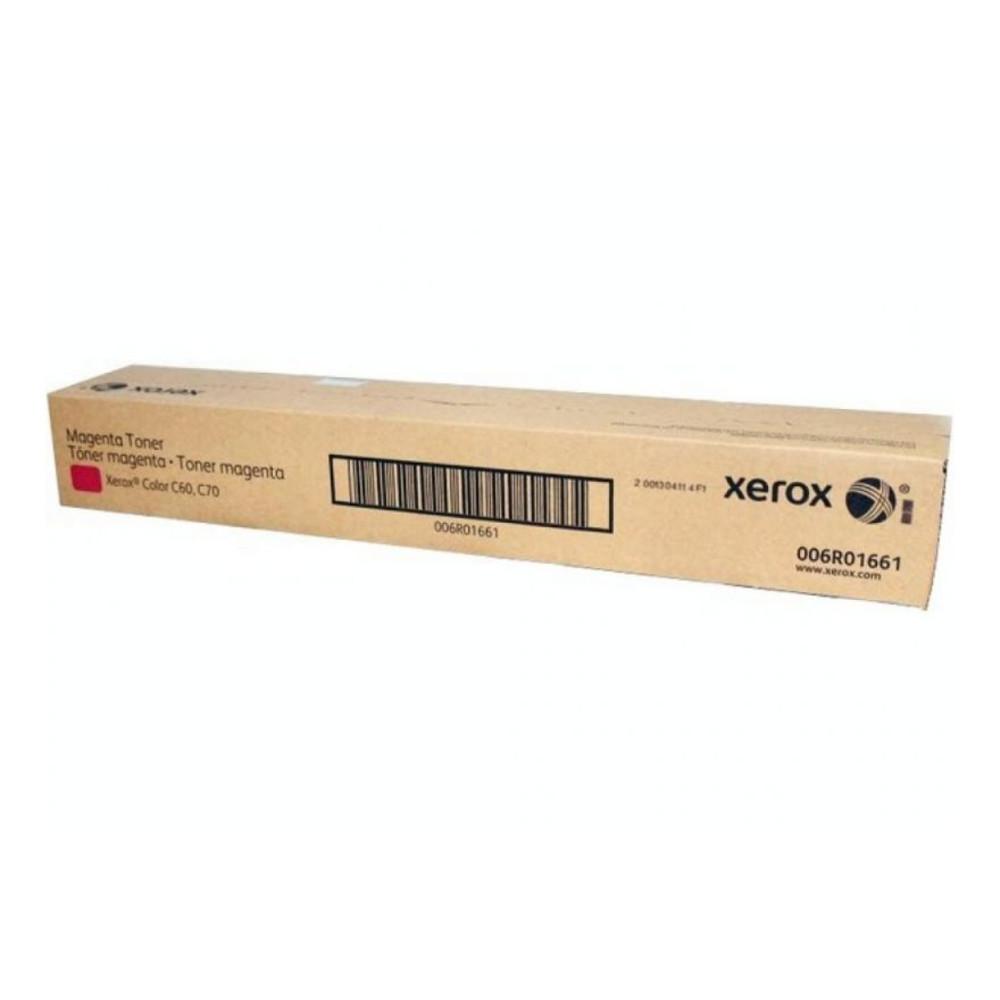 Тонер-картридж  Xerox  006R01661 (малиновый)  Для Xerox Color 550/560/570/C60/70  34 000 страниц (А4)