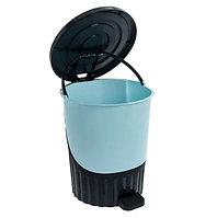 Урна педальная пластиковая 26 литров, фото 1