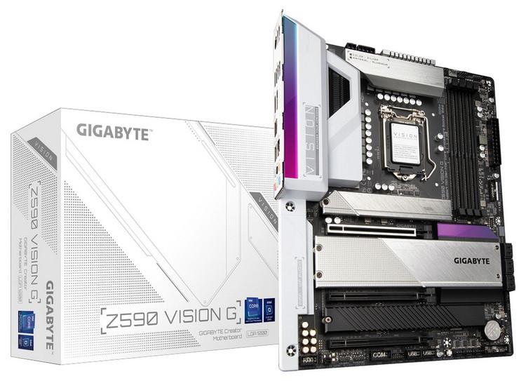 Материнская плата Gigabyte Z590 VISION G
