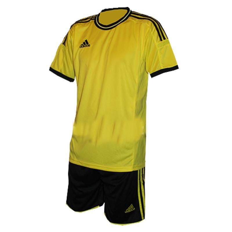 Футбольная форма  на команду Adidas взрослая желтая