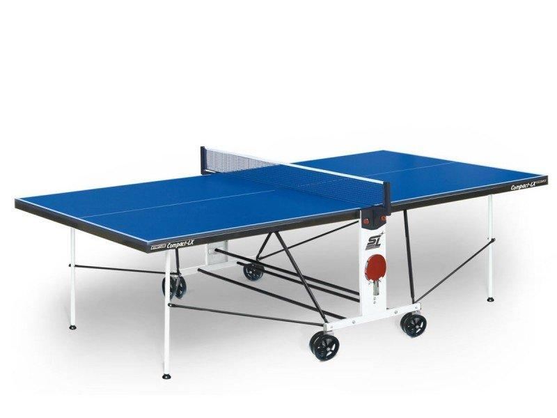 Стол теннисный Start line Compact Outdoor-2 LX BLUE