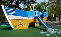 детские площадки из hpl-панеле...