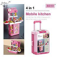 """Игровой набор """"Кухня 4в1"""" в чемодане на колесах, фото 1"""