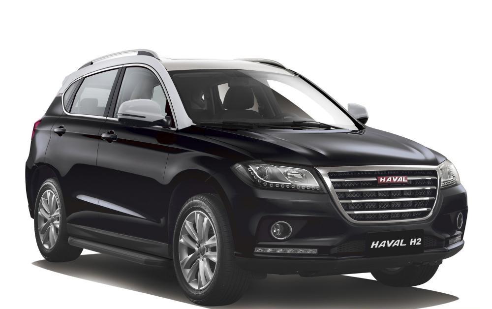 """Пороги """"Premium-Black"""" Haval H2 (2014-)"""