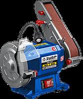 ЗУБР d150 мм, 300 Вт, заточной станок с шлифовальной лентой ПТЛ-150