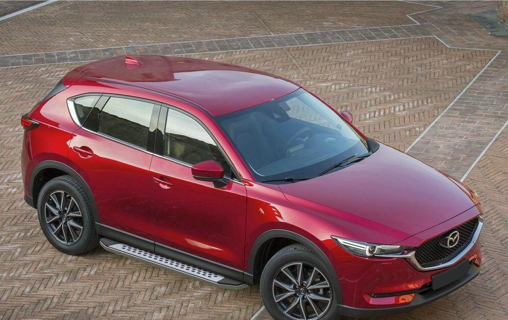 "Пороги ""Bmw-Style"" Mazda CX-5 (2017-2021)"