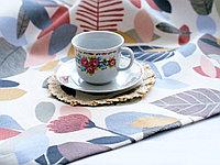 Ткань с принтом и тефлоновой пропиткой для скатертей, фартуков, подушек, уличных штор