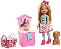 Barbie: Куколка Челси и щенок, 2 вида в асс.