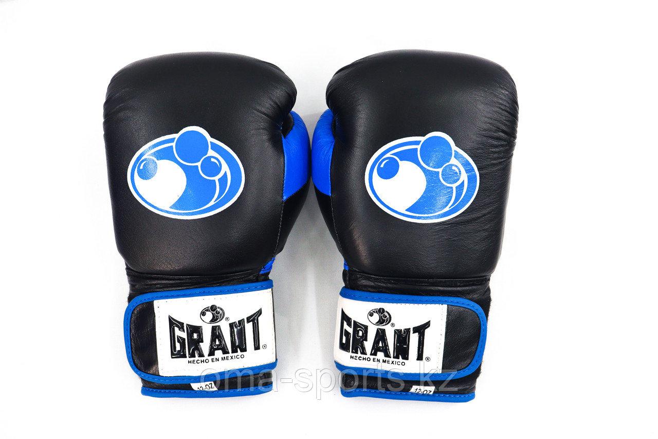 Перчатки боксерские кожа GRANT