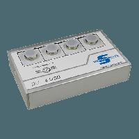 Усилитель сигнала и монитор тензодатчиков силы и датчиков деформации DU-4USB