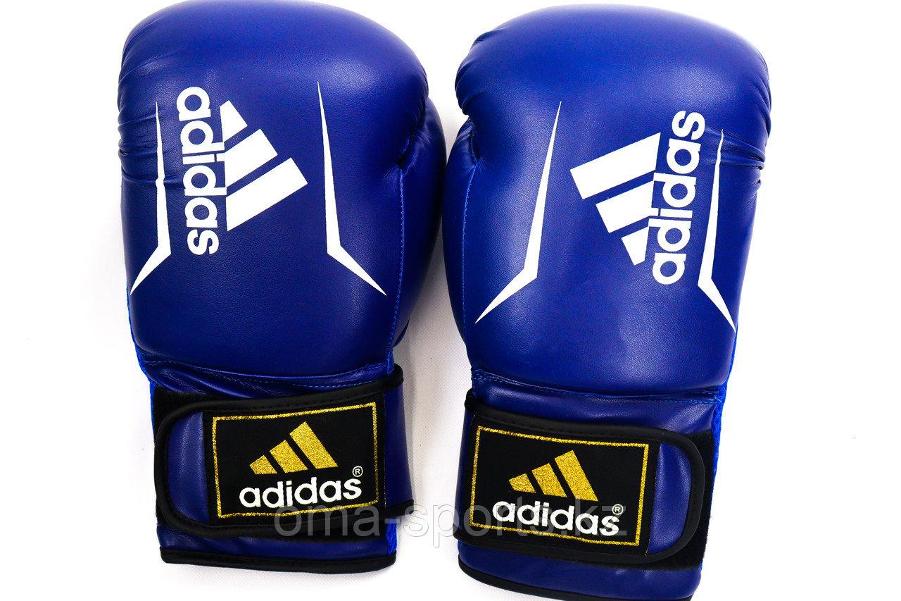 Кожаные боксёрские перчатки Adidas