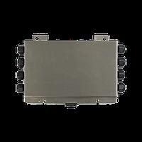 Плата выравнивания для 5-8 датчиков (4/6 проводные) установлена внутри корпуса IP67 из нержавеющей стали AISI