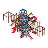 Детский игровой комплекс «Морской» ДИК 2.17.08 H=1200 H=2000, фото 2