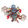 Детский игровой комплекс «Морской» ДИК 2.17.08 H=1200 H=2000, фото 4