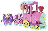 """Barbie: Игровой набор """"Паровозик с куклой Челси"""""""