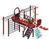 Детский игровой комплекс «Аэроплан» ДИК 2.03.4.02 H=1200, фото 2