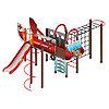 Детский игровой комплекс «Аэроплан» ДИК 2.03.4.02 H=1200, фото 3