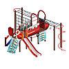 Детский игровой комплекс «Аэроплан» ДИК 2.03.4.02 H=1200, фото 4