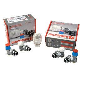 Клапаны термостатический радиаторные Giacomini (Италия)