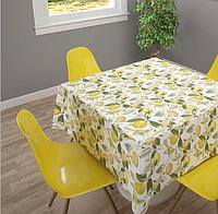 Ткань с фруктовым принтом и тефлоновой пропиткой для скатертей, фартуков, подушек, штор,обивки