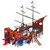 Детский игровой комплекс «Флагман» ДИК 2.03.3.03 H=1200 H=1500 H=2000, фото 3