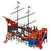 Детский игровой комплекс «Флагман» ДИК 2.03.3.03 H=1200 H=1500 H=2000, фото 2