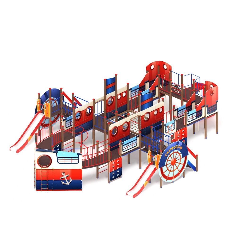 Детский игровой комплекс «Пароход» ДИК 2.03.3.05 H=1200 H=1500 H=2000