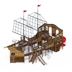 Детский игровой комплекс «Флагман» ДИК 2.03.3.03-01 H=1200 H=1500 H=2000