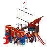 Детский игровой комплекс «Фрегат» ДИК 2.03.3.04 H=1500 H=2000, фото 3