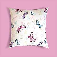 Ткань с принтом бабочки и тефлоновой пропиткой для скатертей, фартуков, подушек, штор,обивки