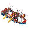 Детский игровой комплекс «Баркетина» ДИК 2.03.3.06 Н=1200 Н=1500 Н=2000, фото 2