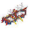 Детский игровой комплекс «Баркетина» ДИК 2.03.3.06 Н=1200 Н=1500 Н=2000, фото 4