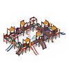 Детский игровой комплекс «Замок» ДИК 2.18.11-01 H=1200 H=900, фото 3
